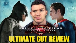 BATMAN V SUPERMAN Ultimate Edition - SPOILER Review