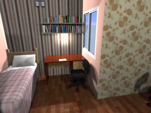Tulas International School Girls Hostel Room Design YouTube
