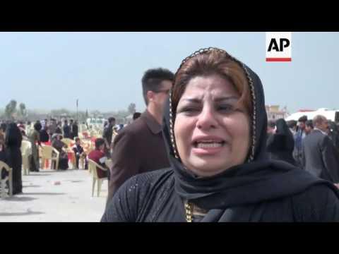 Kurds mark 28th anniversary of Halabja attack