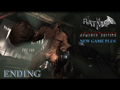 Batman: Arkham City ARMORED EDITION (New Game Plus) - Ending: Curtain Call (1080p)