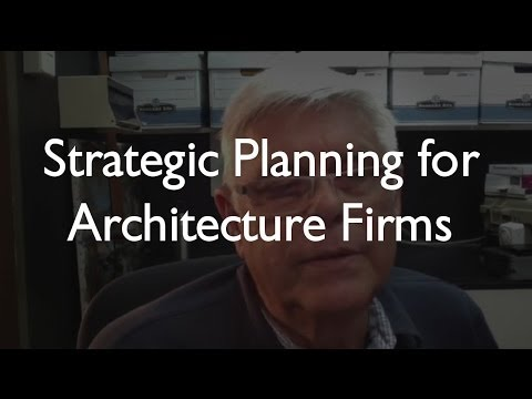 Creating a Strategic Plan for An Architecture Firm