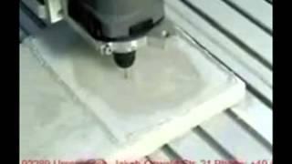 Обработка мрамора на фрезерных станках с ЧПУ - Marble working on CNC milling machines(, 2013-05-12T16:48:30.000Z)