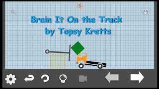 brain it on the truck level 25 water 5 stars