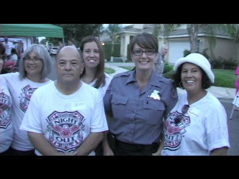 Neighbors Come Together To Celebrate National Night Out - Fighting Back Against Crime