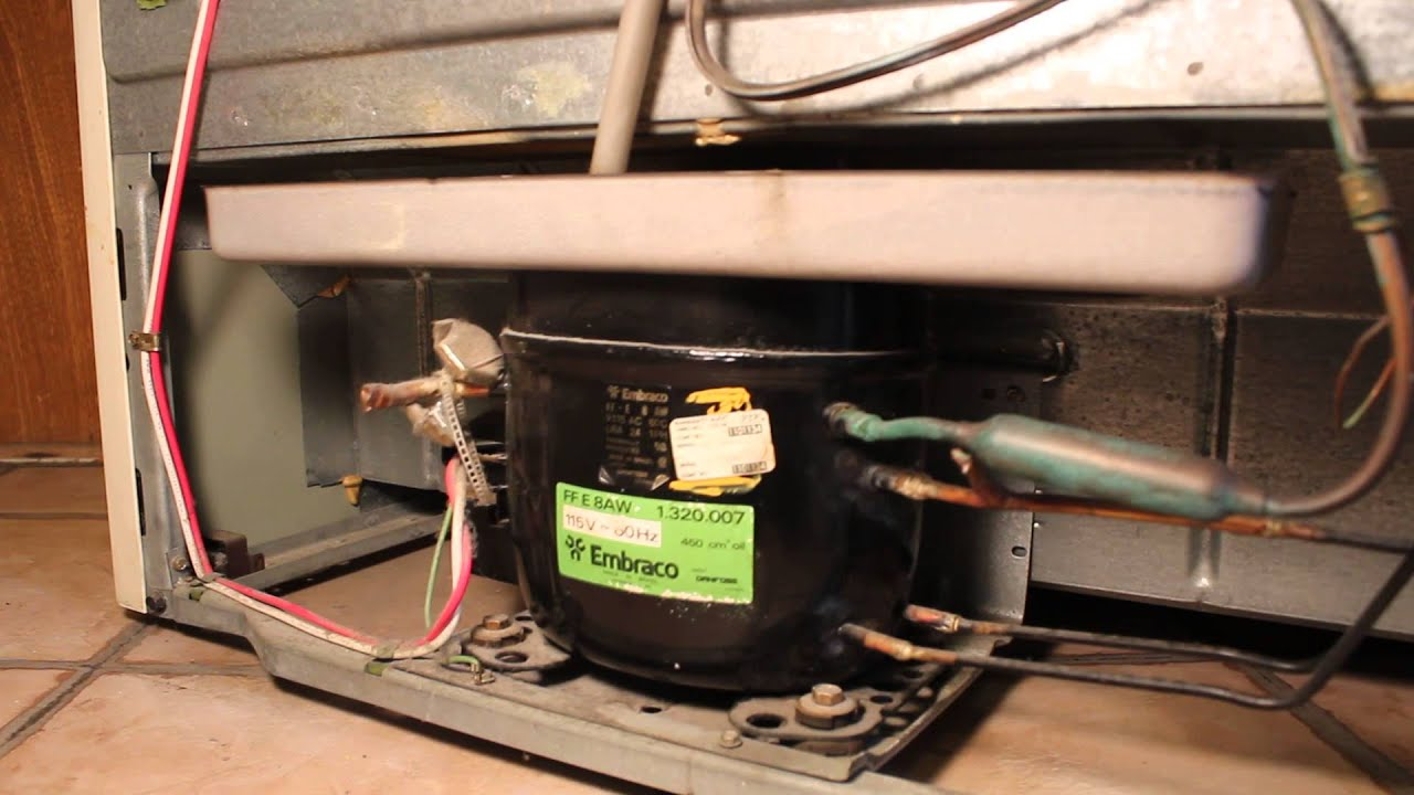 Noisy Rattling Refrigerator Compressor Youtube