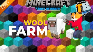 Wool Farm | Truly Bedrock Season 2 [54] | Minecraft Bedrock Edition 1.16.4