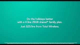 4 lines, $25 each & 25GB of shared data
