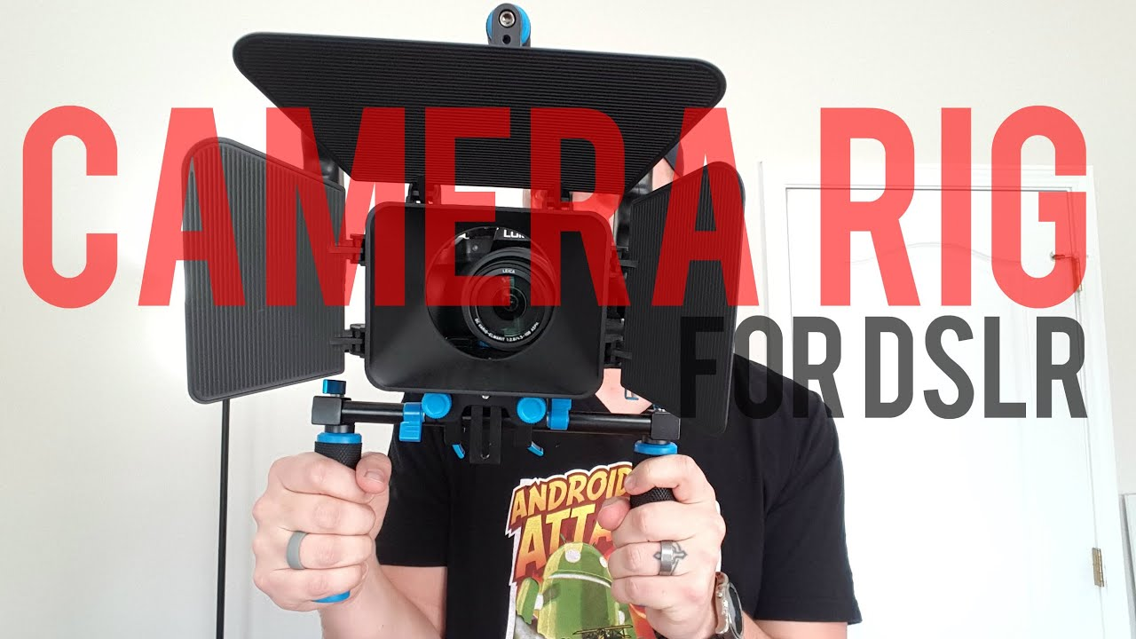 ada4423c3 Kit System Shoulder Rig for DSLR camera - NEEWER - YouTube