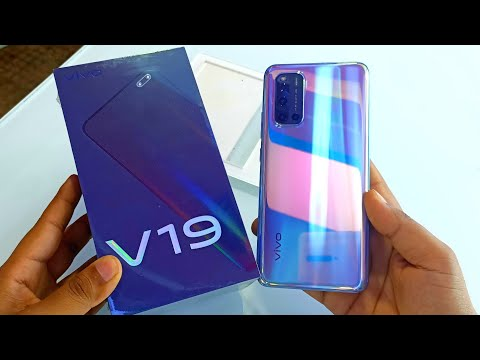 Vivo V19 Mystic Silver Unboxing, First Look & Review 🔥🔥!! Vivo V19 Specifications, Price & more