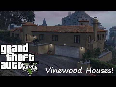 Asmr Gta V New Vinewood Hills Houses Youtube