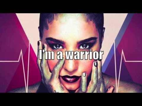 Warrior Lyrics Demi Lovato Youtube