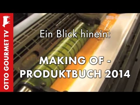 Produktbuch 2014 Making of