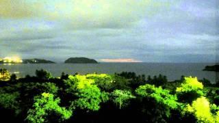 June Weather in Potrero, Costa Rica - Timelapse