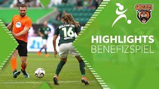 Wolfsburger für Wolfsburg | Highlights + Tore | Benefizspiel