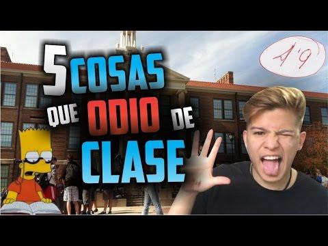 5 COSAS QUE ODIO DE CLASE | Mrpaulferrer