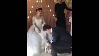 Брат надевает туфельку на невесту / Красивая армянская свадьба в Ереване 2018