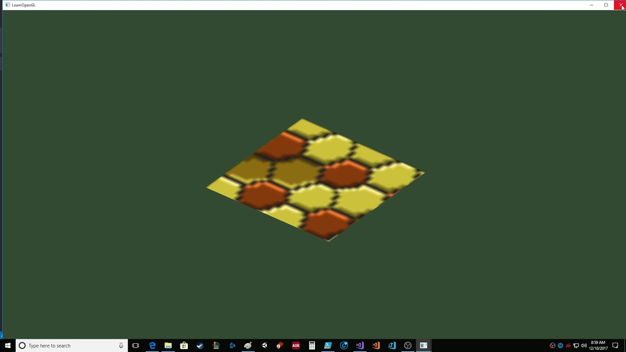 OpenGL Fragment Shader Point Sprites Texture mapping Visual Studio 2017