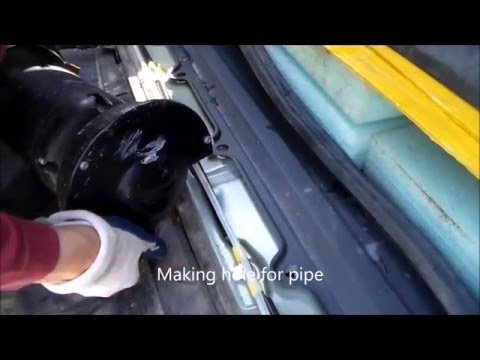 HOMEMADE Hot Water Heating System for Car & Off ro