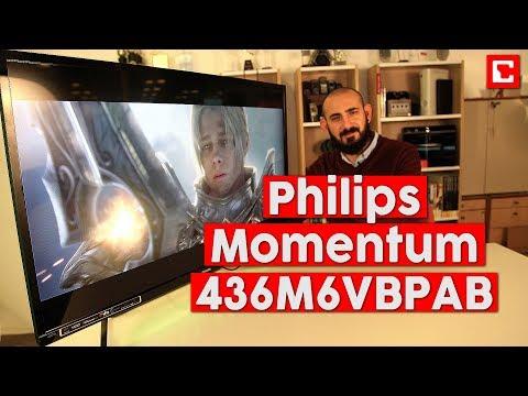 Philips Momentum 436M6VBPAB İnceleme - Devasa 4K HDR Monitör