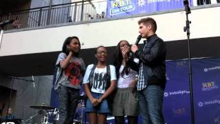 CHINA ANNE, LAURYN and SIERRA McCLAIN On Stage at the NBT Tour!
