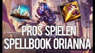 Smite Spellbook Orianna! | Pros spielen Orianna
