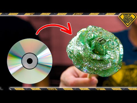 5 New Uses For Old CDs: #4 Glass Blowing?!