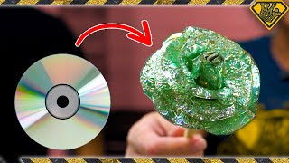 Download 5 New Uses For Old CDs: #4 Glass Blowing?! Mp3 and Videos