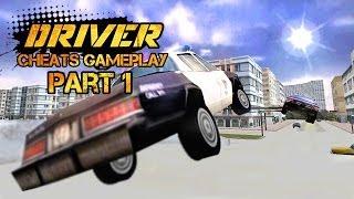Driver 1 Cheats Gameplay Part 1 HD