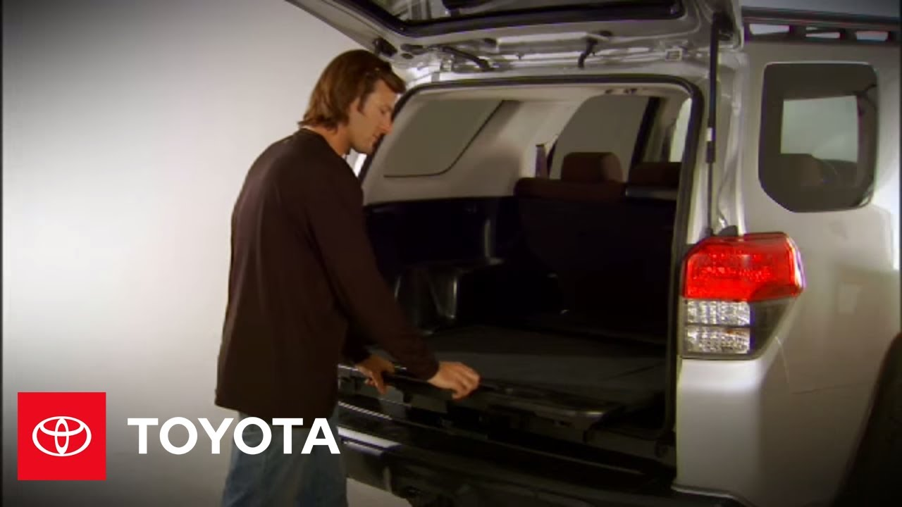 2010 4Runner How-To: Rear Cargo Area | Toyota