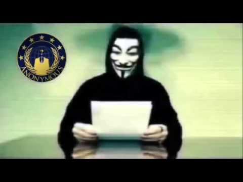 Message de Anonymous aux gouvernement du Québec