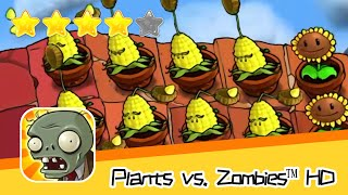 Plants vs  Zombies™ HD Adventure 2 ROOF 03 Walkthrough The zombies are coming! Recommend index five