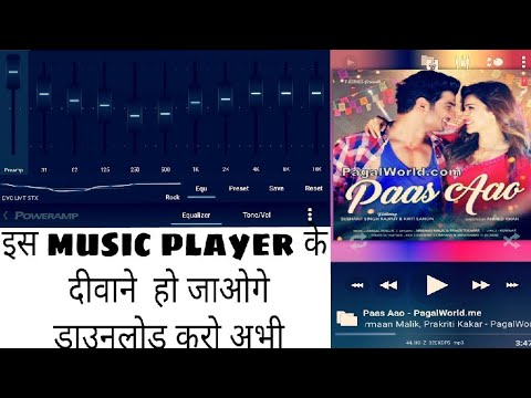 Android number 1 apk | music player Powermp |  Bass  | Treble | Equalizer