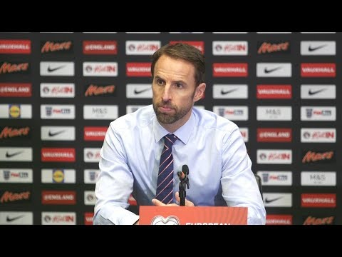 England 1-0 Slovenia - Gareth Southgate Full Post Match Press Conference - World Cup Qualifying