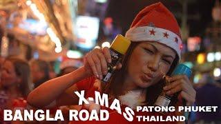 BANGLA ROAD X-MAS Patong Phuket Thailand