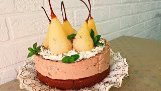 Нежный Торт ФЕЕРИЯ без муки Королевский Торт на Праздничный Стол