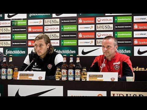 9. Spieltag | SGS - SGD | Pressekonferenz vor dem Spiel