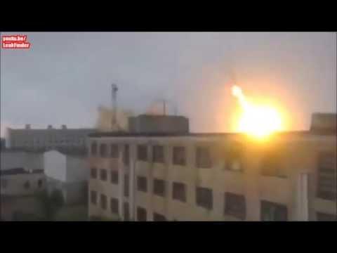 Donetsk   missile strike 08 19 2014 (danger close)
