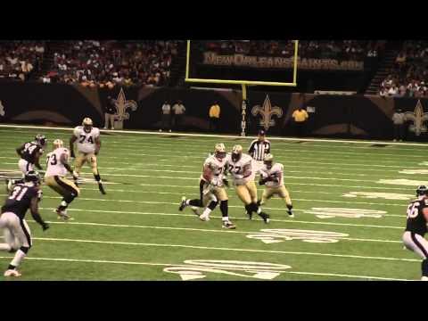 Pierre Thomas TD Saints vs Texans Preseason