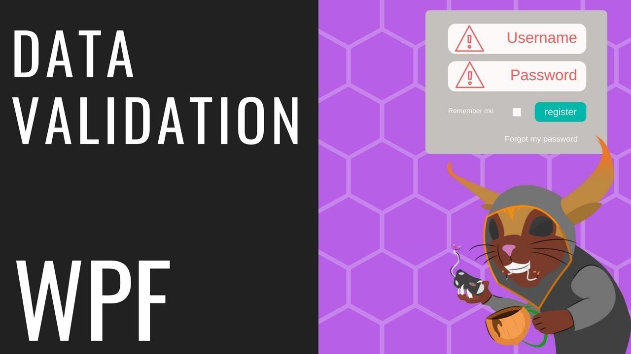 WPF Data Validation - Exception, IDataErrorInfo, ValidationRule, &  Annotations