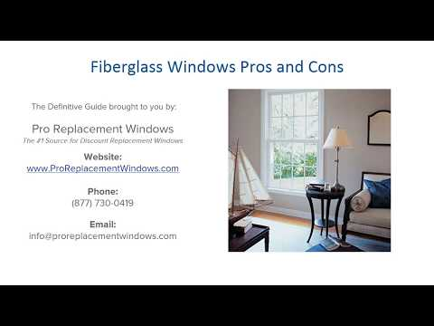 Fiberglass Windows: Pros and Cons of Installing Fiberglass Replacement Windows
