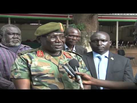 SPLA CHIEF OF GENERAL STAFF GEN. MALONG AND GEN. DAU RECONCILIATION