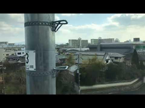 【録画】おおさか東線新線区間、放出駅〜新大阪駅の車窓