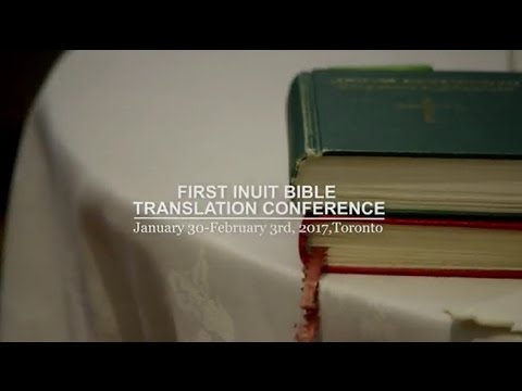 First Inuit Bible Translation Conference