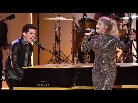 Meghan Trainor and Charlie Puth's Extreme AMA Makeout Session!