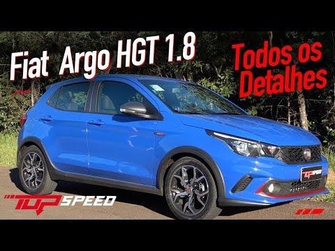 Avaliação Fiat Argo 1.8 HGT 2018 - Todos os detalhes | Canal Top Speed