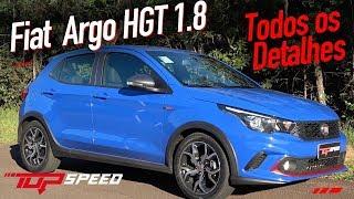 Avaliação Fiat Argo 1.8 HGT 2018 - Todos os detalhes   Canal Top Speed
