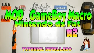 MOD, GameBoy Macro con NDS FAT / Tutorial #2/3 - almadgata