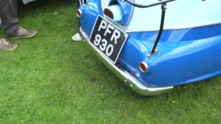 1957 BMW Isetta Bubble Car up close