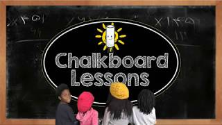 Help us bring back CHALKBOARD LESSONS - A great way to educate our children