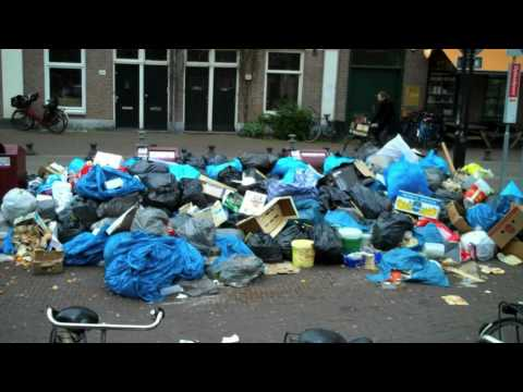 Garbage strike Amsterdam, IMPress